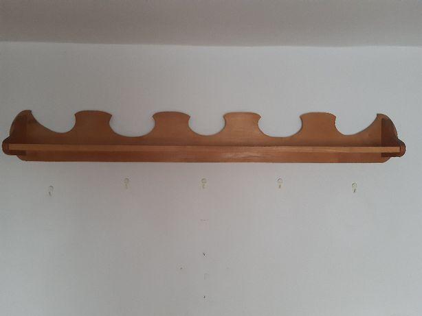 Półka drewniana, styl góralski