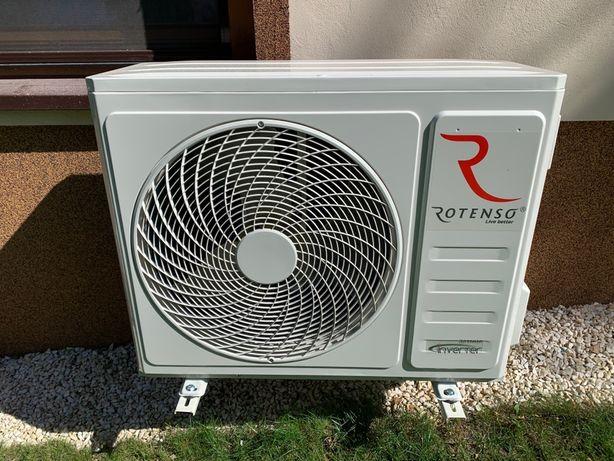Pompa Ciepła przerobiona z klmatyzacji 10kW.