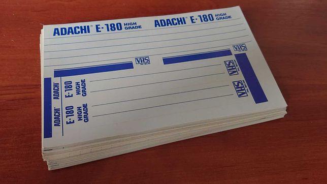 відеокасети Наклейки видеокассеты стикеры самоклейки ADACHI кассеты
