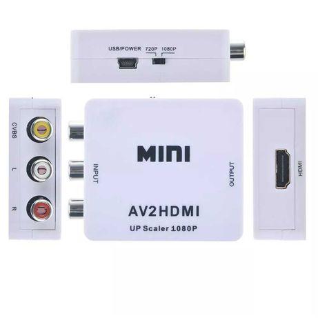 Adaptador AV-HDMI (AV/3RCA para HDMI)