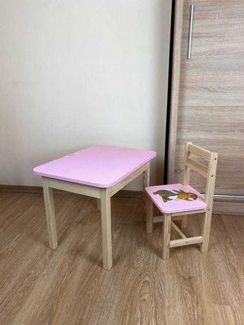 Комплект стул + стол для ребенка