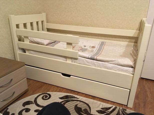 Дитяче ліжко, односпальне, кроватка, ліжечко