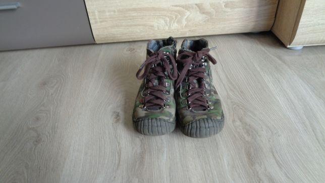 Skórzane trzewiki półbuty moro firmy Ryłko rozm 29