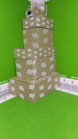 Коробки картонные от 1 грн. Большой выбор размеров!)
