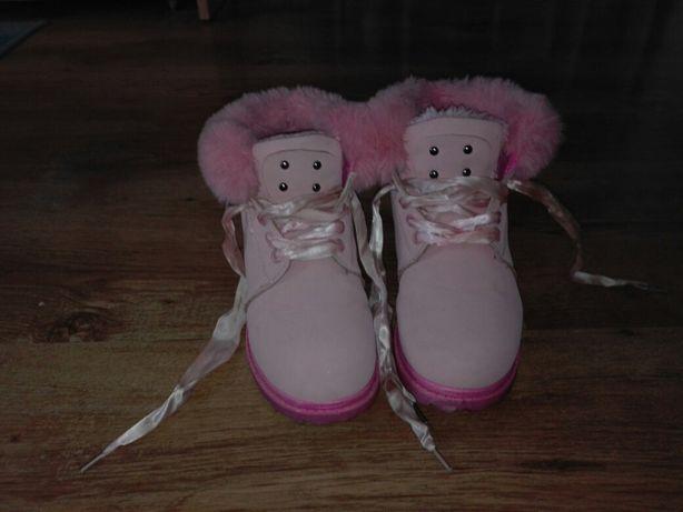 Kamasze zimowe dla dziewczynki
