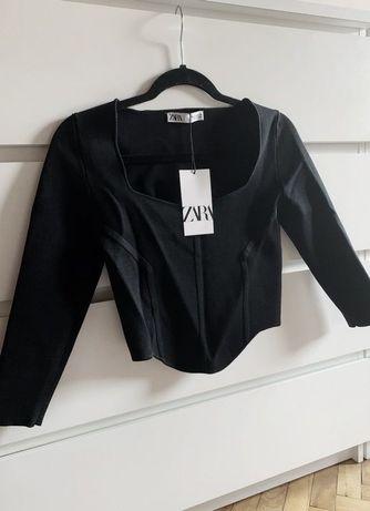 Zara Nowy Sweter Bluzka Gorsetowa Limited Edition S, M