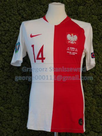 Koszulka meczowa POLSKA-SŁOWENIA 2019 el. ME 2020 - MATEUSZ KLICH