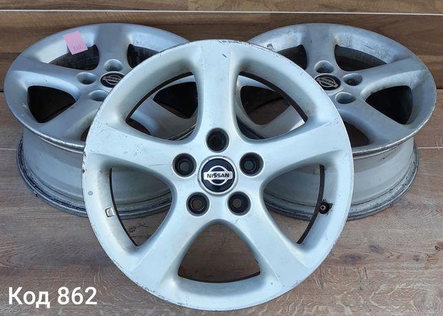 Оригінальні диски Nissan R16 5x114.3 ET40