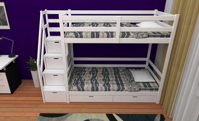кровать двухъярусная Рената 3, детская двухъярусная кровать