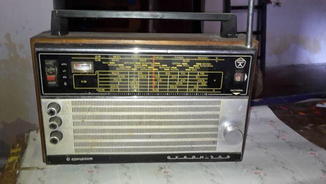 """радиоприемник  """"ОКЕАН- 209"""""""