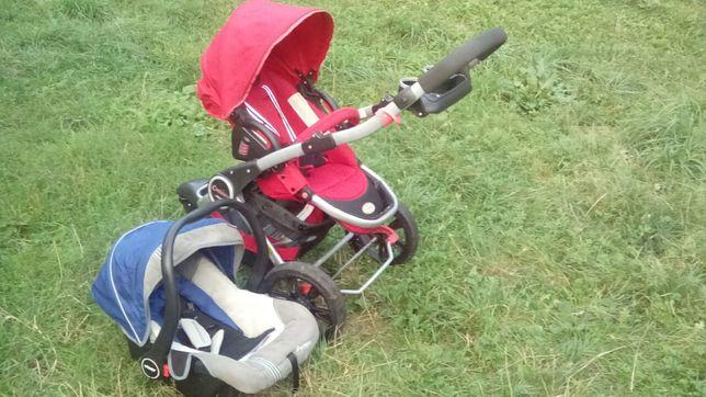 Wózek trójkołowy dziecięcy