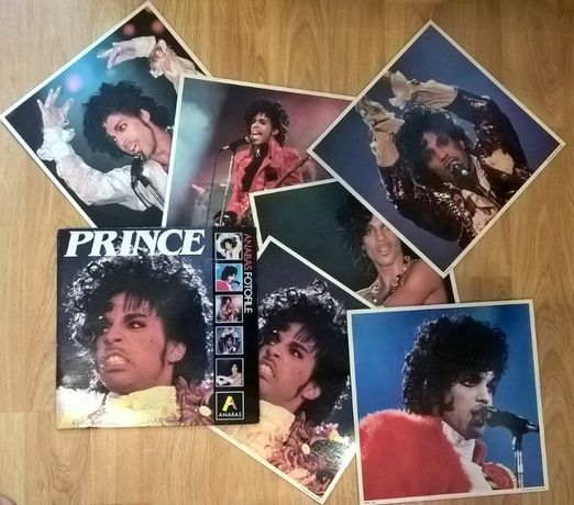 Prince (Anabas Fotofile) 1985. (Vinyl Store 6 Big Colour Photo). UK