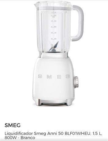 Liquidificador SMEG branco NOVO na CAIXA