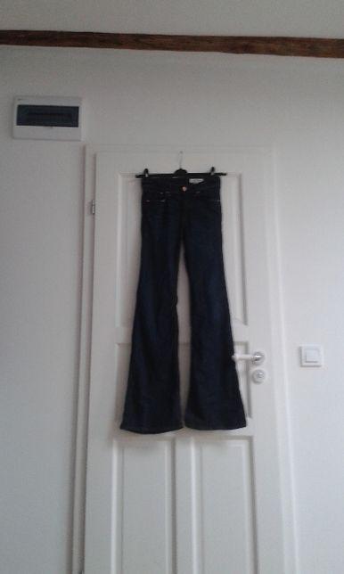 h&m jeansy dzwony (flary) 26 x 32 nowe
