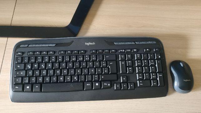 Купить беспроводной комплект клавиатуры и мыши Logitech MK330 Kit