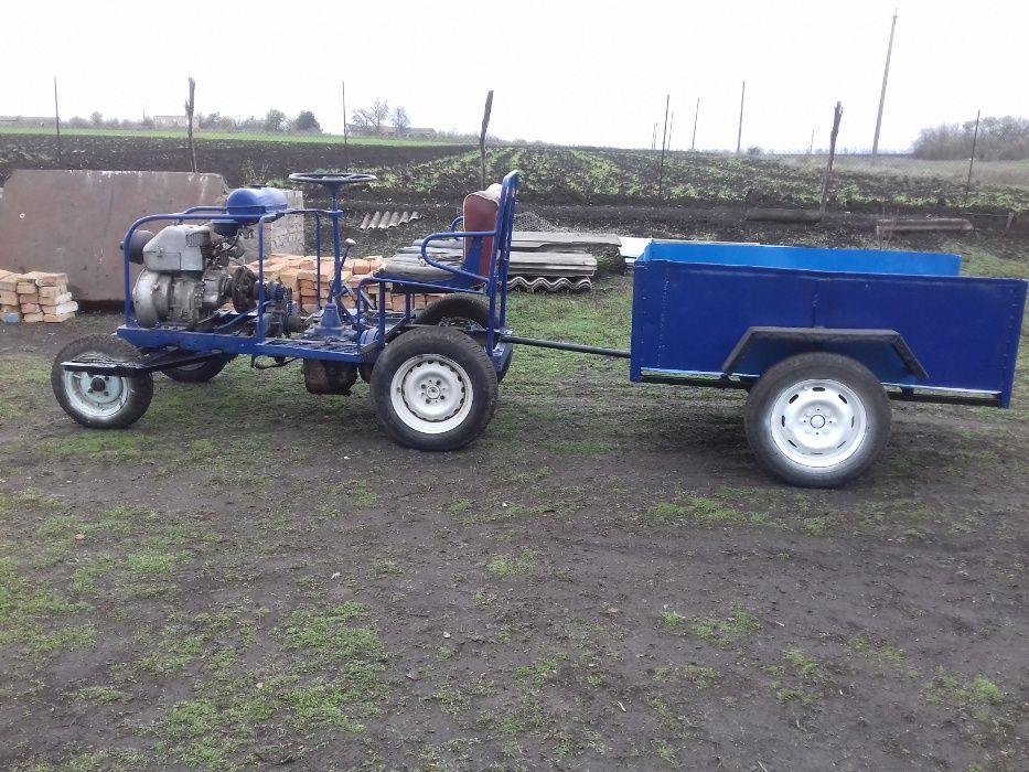 Саморобний трактор Помошная - изображение 1