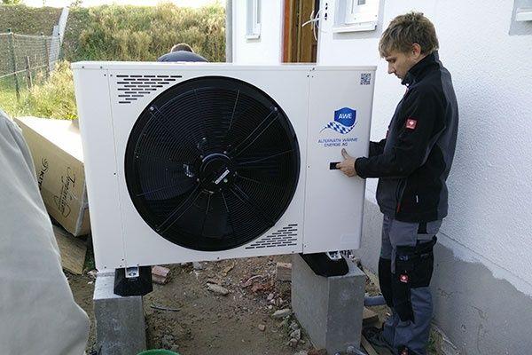 Установка тепловых насосов, кондиционеров (монтаж, демонтаж)