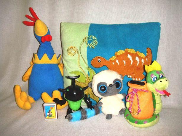 Набор игрушек 5шт-99рн Мягкая плюшевая игрушка Детская копилка Подушка