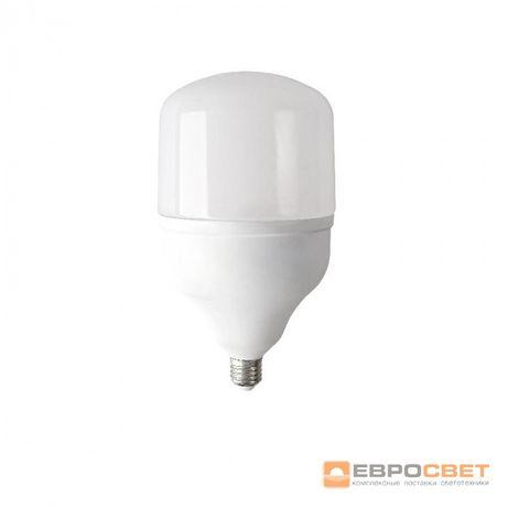 Лампа светодиодная высокомощная ЕВРОСВЕТ 50Вт 6400К (VIS-50-E27)