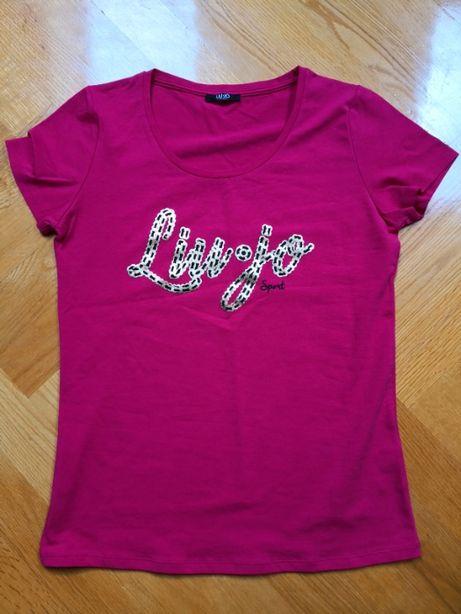 Oryginalny, damski t-shirt Liu-Jo rozm. M