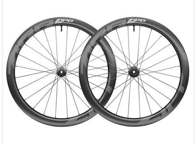 Rodas zipp 303s disco novas carbono pneus ou tubeless Shimano