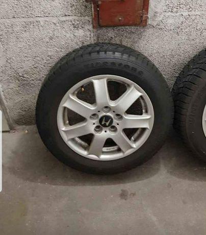 Felgi aluminiowe  z oponami 5x114.3 Honda kia hyundai R15/195/60