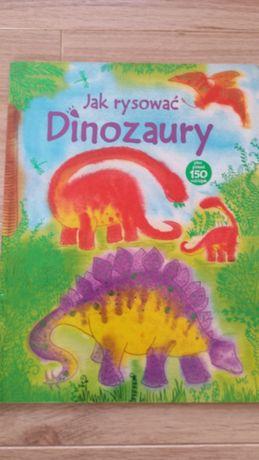 Książka Jak rysować dinozaury