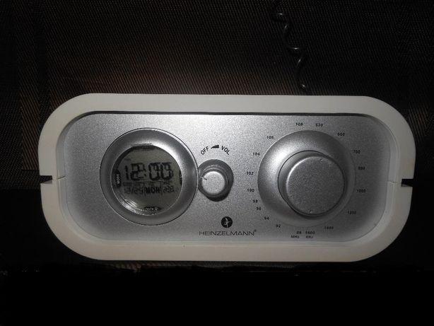 Дизайнерское Радио+Часы+Градусник Heinzelmann Origina Германия