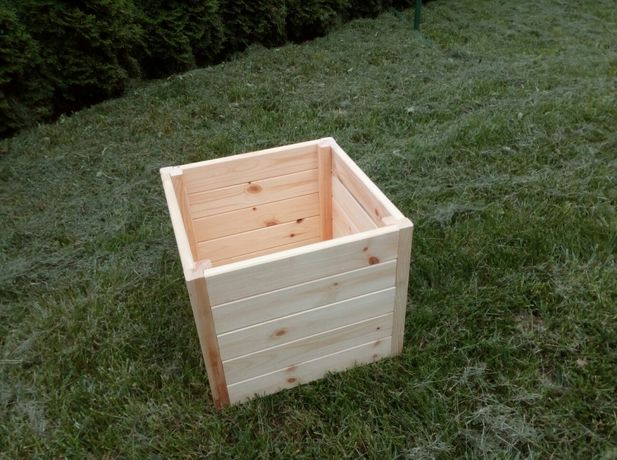 Wyprzedaż donica drewniana donice drewniane skrzynia!!