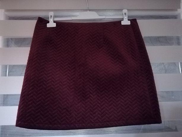 Spódnica mini NEW Look bordowa 16 /44 /XXL