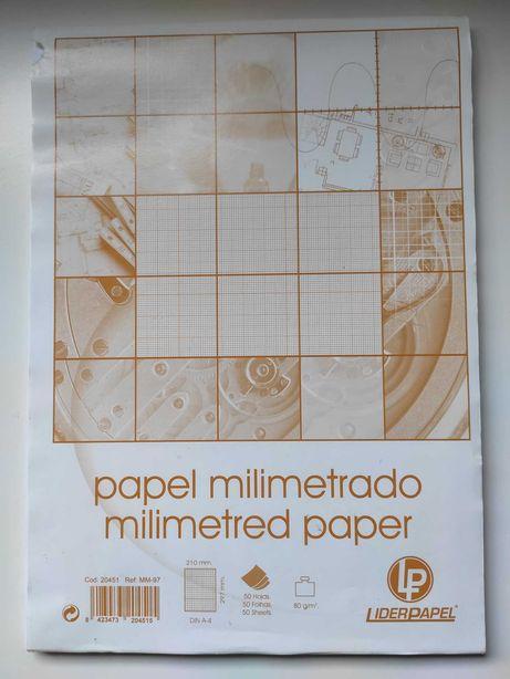 Papel milimétrico A4