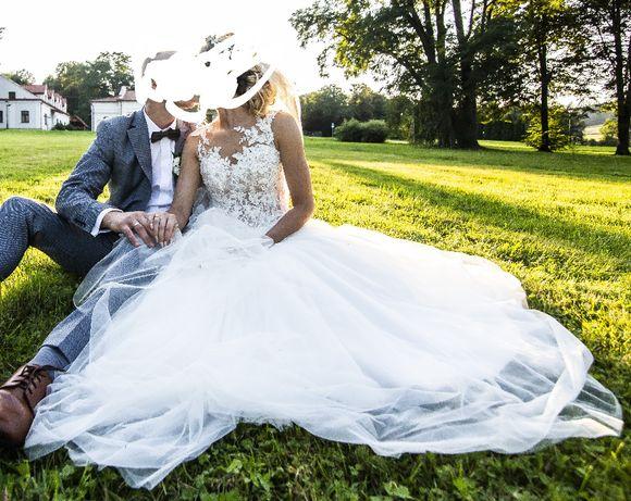 Suknia ślubna boho rozmiar 36