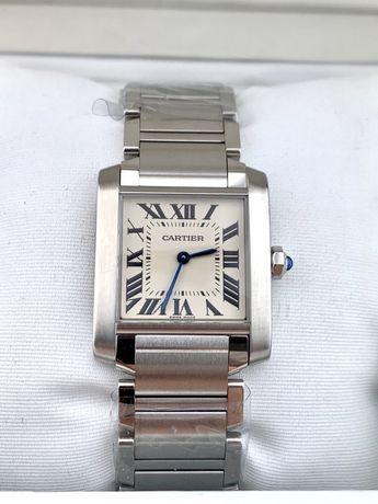Cartier Tank Francaise Silver Dial WSTA0005