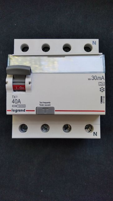 УЗО Legrand TX3 4-полюсный 40A 30mA