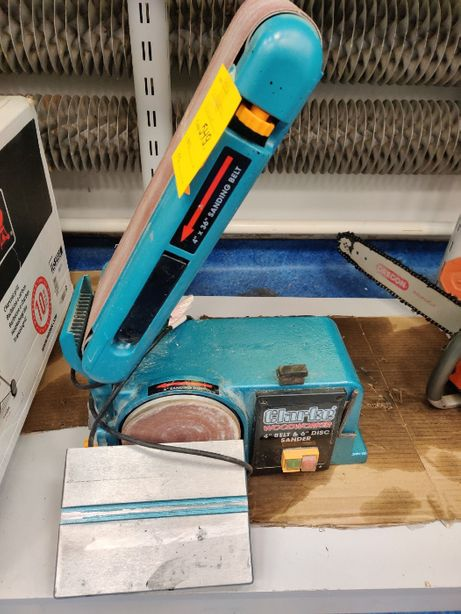 Szlifierka Czyszczarka Taśmowa do drewna Clarke CS4-6D 370W