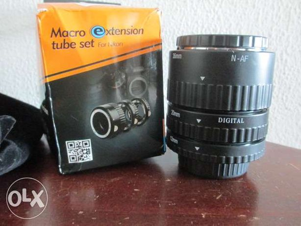 Mount auto focus macro extension tube set ring for nikon