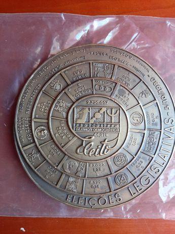 Medalha comemorativa Eleições Legislativas 1980