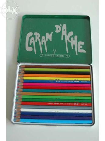 Lápis cor - caran d' ache - 18 unid