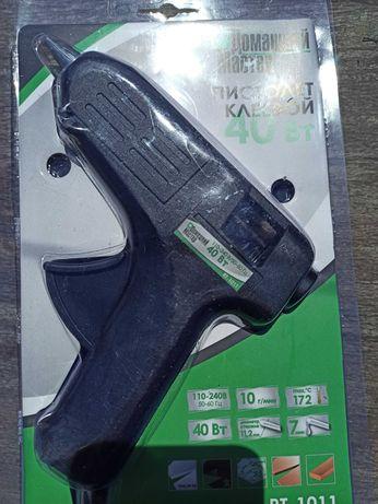 Клеевой пистолет 40 Вт, 11,2 мм (новый)
