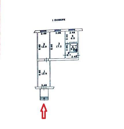 Купить фасадное помещение на Черемушках 60 кв.м.