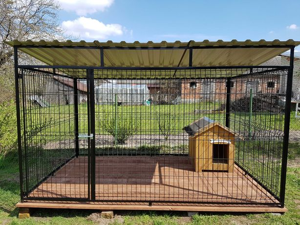 Kojec- klatka- zagroda dla psa- panelowy 4mx3m