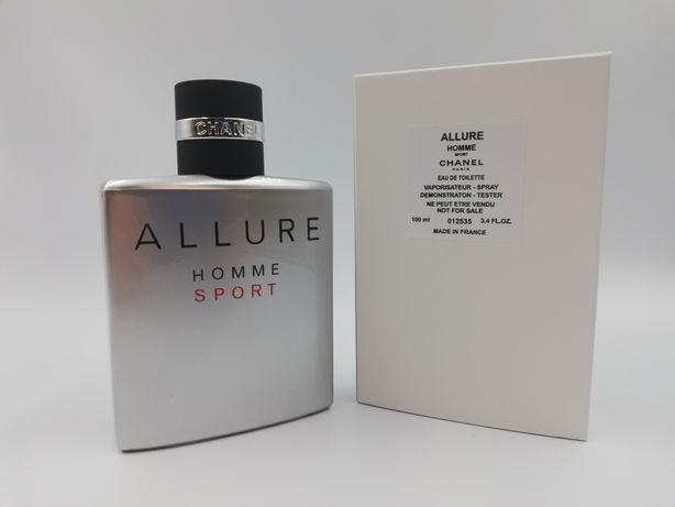 Perfumy CHANEL Allure Homme Sport 100ml Tester Wyprzedaż