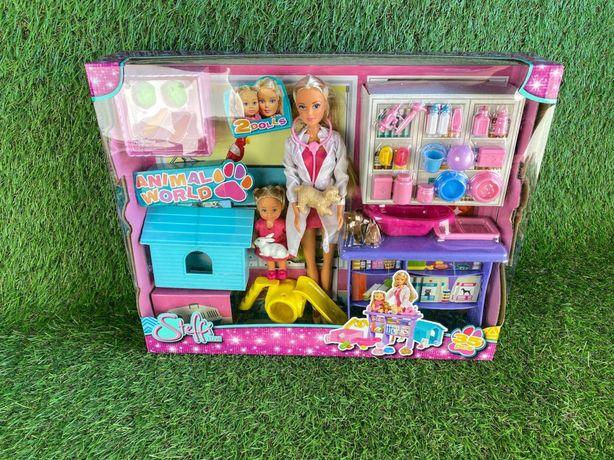Кукла, ветеринарная клиника, кукольный набор