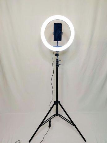 [NOVO] Ring Light c/ Anel 30 cm + Tripé Extensível [70 cm - 200 cm]