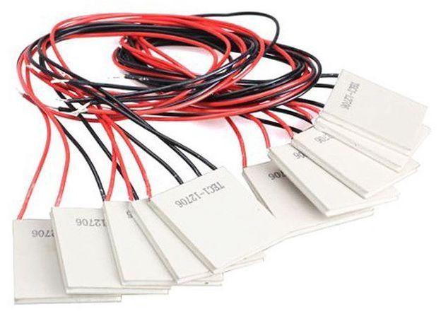 Peltier 12V 5.8A Celula / Pastilha TEC1-12706 Cooling kit eletronica