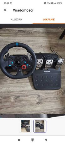 Kierownica Logitech g29 plus shifter ps4 PS3 pc
