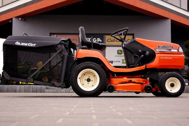 Traktorek kosiarka PRO Kubota G21 WOM Diesel dolny wysyp hydraulika
