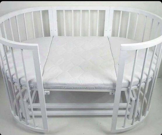 Дитяче ліжечко 7 в 1