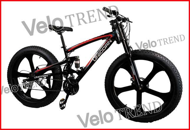 Горный велосипед Unicorn фэтбайк Fet-Bike 26″ Рама 17 литые диски