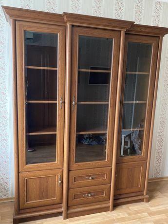 Срочная продажа!!! Комод, шкаф для одежды и витрина BRW, Польша